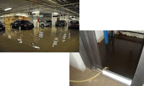 Servicio de urgencias - Inundaciones - atascos en Barcelona