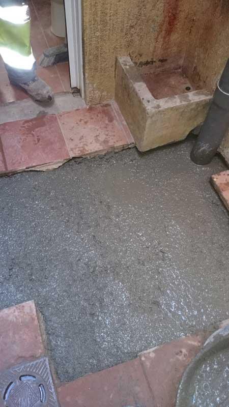 Modificación de la red de desagües en Barcelona