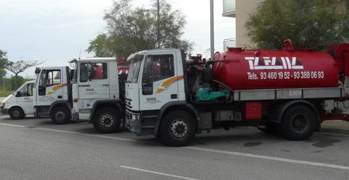 Desatascos en Barcelona - Limpieza de tuberías en Barcelona